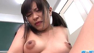 Aika Hoshino likes blowing cock and swallowing jizz