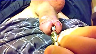 10mm urethral plugging in the afternoon