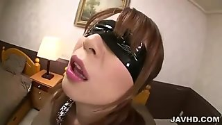 Busty japanese babe has orgasm