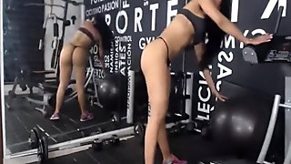 Hot Latina Workout Part 7