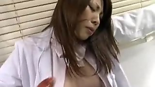 Asami ogawa jizzed by some slimy