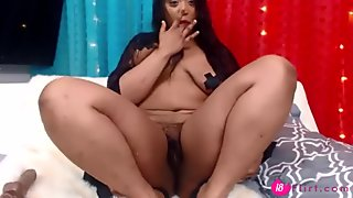 l0vely hairy black escort entertainer Adrienne.mp4