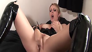Mistress Shay whips you into shape
