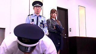 Incredible Japanese model Haruki Sato in Crazy office, threesomes JAV video