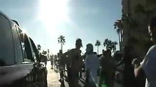 drunk bikini sluts in streets of Miami