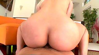 Phat ass babe Anikka Albrite gets rammed