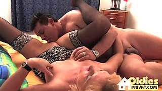 Alternative lesbians rubbing and licking pussy
