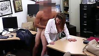 Lusty woman stuffed for a plane ticket