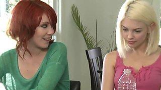 GirlfriendsFilms Bree Daniels facesits on Elle Alexandra