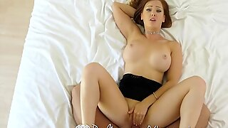 PUREMATURE milf catches wanking ample dick hunk