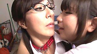 Chained Japanese Lesbians - Reiko