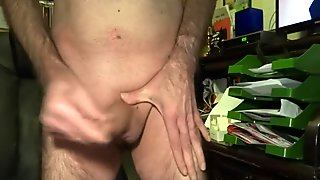 balls and dick play with my sperm for you