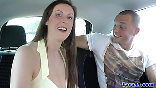 Booted mature brit doggystyled in euro duo