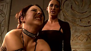 Mandy Bright and Maria Bellucci torture satisfaction
