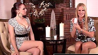 PORNFIDELITY - Gianna and Kelly Share Their Breast Kept Secret
