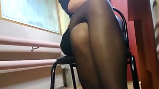 School Visiting - Teacher Upskirt