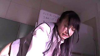 Mako Oda, Chihiro Hara, Asami Nanase, Akari Minamino in Confinement part 1