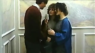 Barbara Dare, Mike Horner, Ronnie Dickson Elevator Threesome
