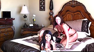 Latina And Older Woman In Hot Webcam Show