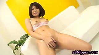 Azumi Harusaki Amazing Asian babe rubs part6