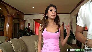 ExxxtraSmall Petite latina teen Veronica Rodriguez tigh