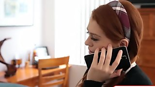 Redhead schoolgirl virgin anal loophole
