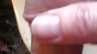 Wanking A Tiny Cock I
