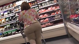Short Phat Wide Booty Beige Pants PAWG