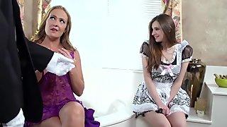 Brazzers - Sexy bathroom threesome