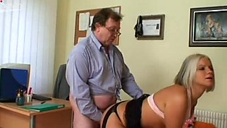 Incredibly hot and sexy booty gal Michaela gets her wet cunt hammered doggy