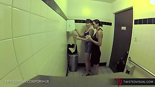 TwistedVisual.com - Dana DeArmond REAL Public Lesbian Sex