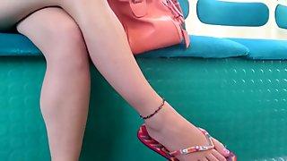 Sexy feets de francesa