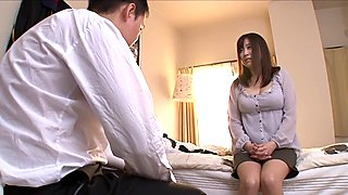 Fabulous Japanese slut Nana Aoyama in Best couple, blowjob JAV clip