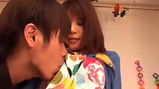 Mosaic Azumi Harusaki  Lewd Babysitter
