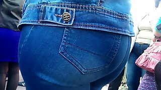 Big Ass in jeans is milf