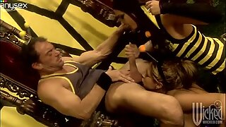 August and Kirsten Price hot threesome bonk