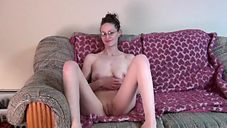 suburban house wife getting naked for the first time on video